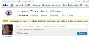Groupe de discussion LinkedIn