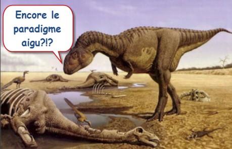 Les gestionnaires dinosaures!