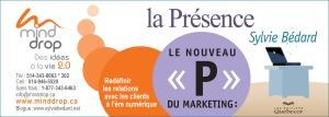 Nouveau P du marketing la Présence