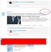 Native Advertiing dans LinkedIn