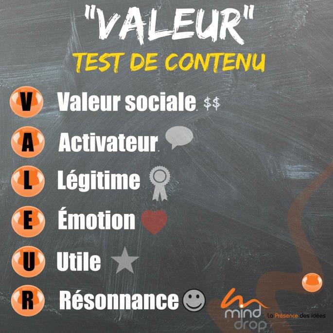 TEst de contenu - valeur