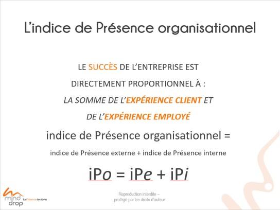 Indice de Présence organisationnel