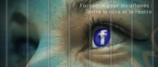 Facebook pour les affaires : entre le rêve et la réalité