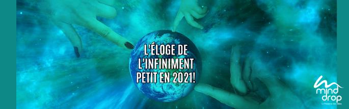 ÉLOGE DE L'INFINIMENT PETIT EN 2021