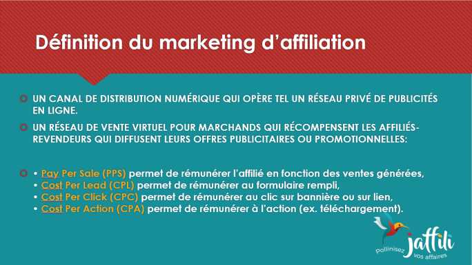 Marketing d'affiliation